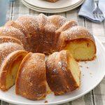 Almond Apricot Coffee Cake