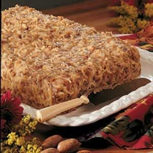 German Chocolate Birthday Cake