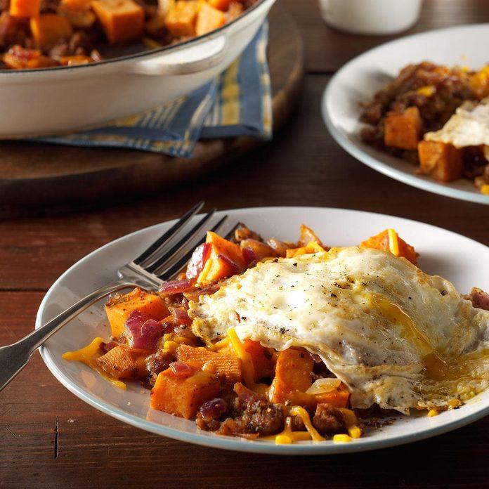 Sausage & Sweet Potato Hash