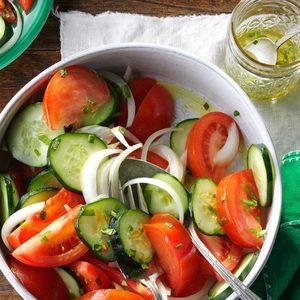 Garden Tomato Salad