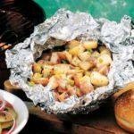 Grilled Parmesan Potatoes