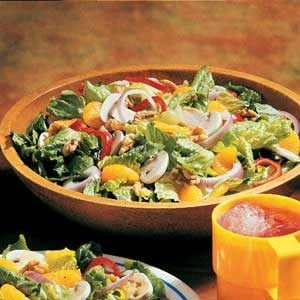 Quick Citrus Tossed Salad
