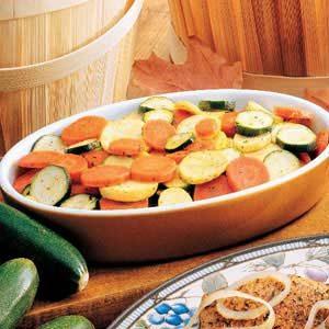 Skillet Ranch Vegetables