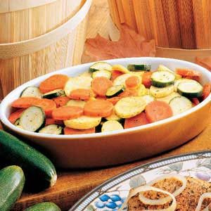 Skillet Ranch Vegetables