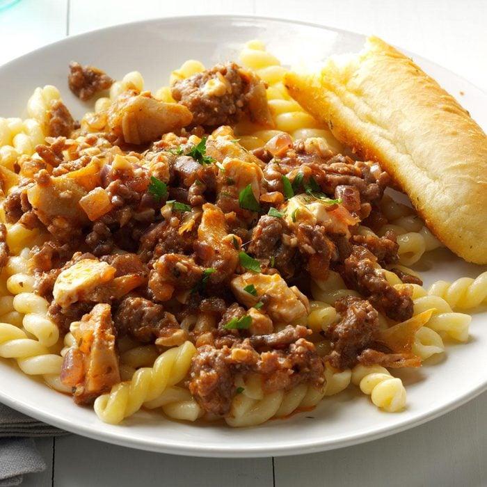 Italian Sausage with Artichokes and Feta