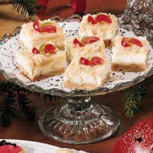 Holiday Cheesecake Bars