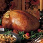 Turkey with Cornbread Dressing