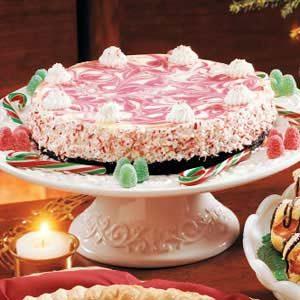 Candy Cane Cheesecake