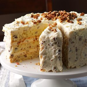 Butter Pecan Layer Cake