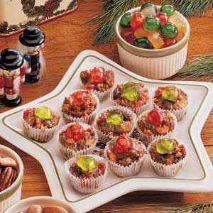 Bite-Size Fruitcakes