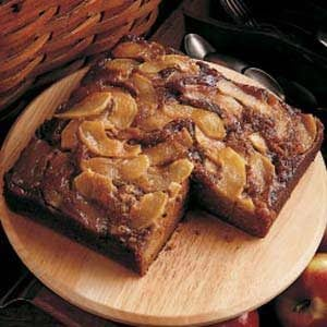 Upside-Down Apple Gingerbread
