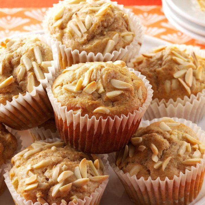 Apple-Almond Muffins