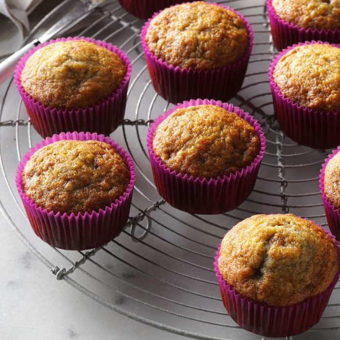 Maine: Basic Banana Muffins