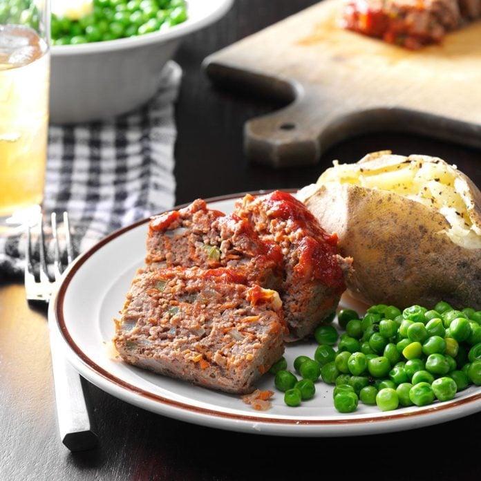 Spring: Vegetable Meat Loaf