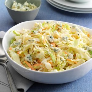 Blue Cheese Apple Slaw