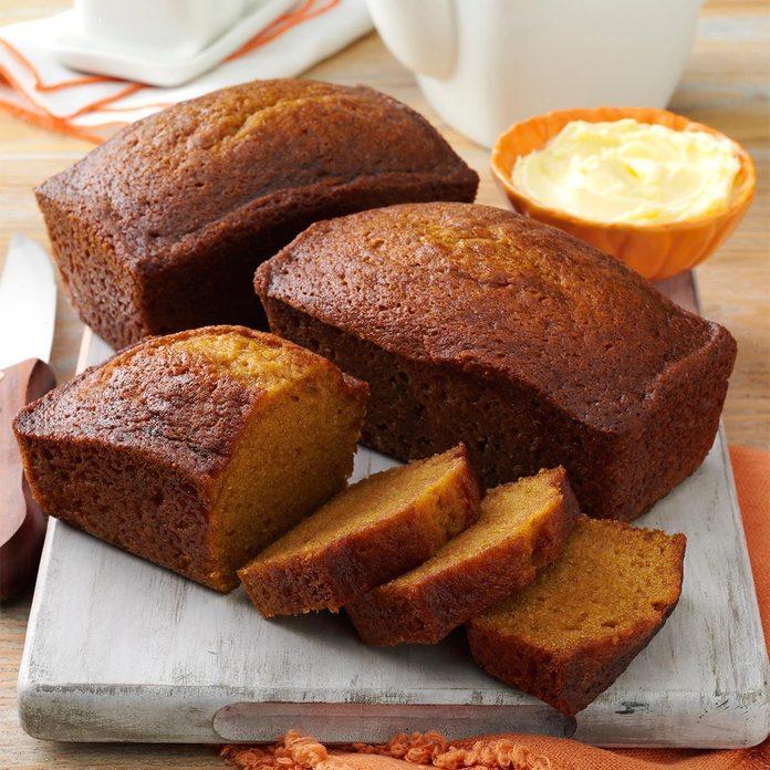 Arizona: Delicious Pumpkin Bread
