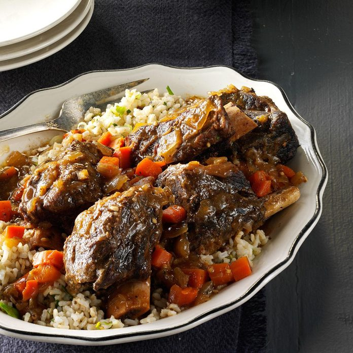 Gingered Short Ribs with Green Rice