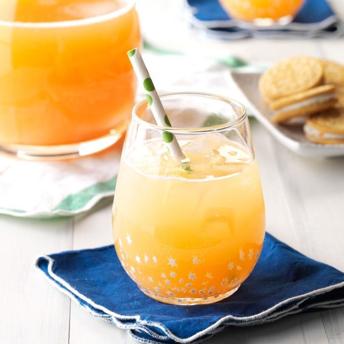 Orange-Kissed Cocktail