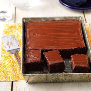 One-Bowl Chocolate Cake