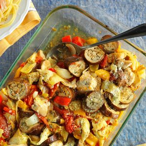Artichoke Ratatouille Chicken