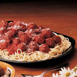 Spaghetti 'n' Meatballs