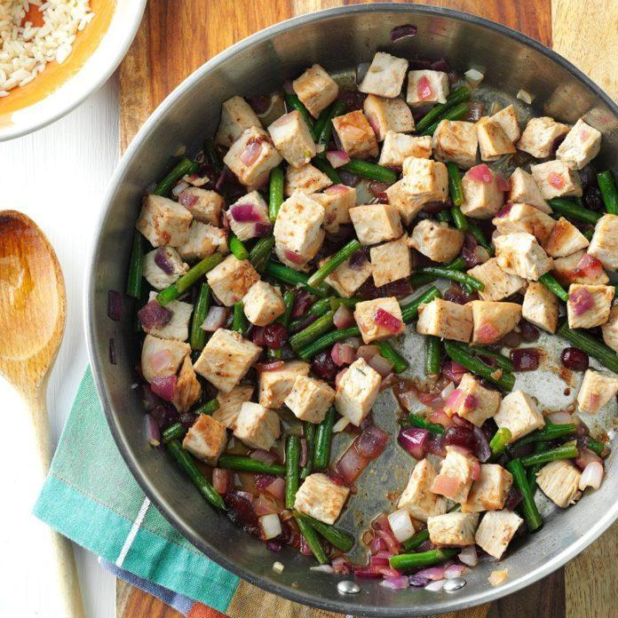 Day-After-Thanksgiving Turkey Stir-Fry