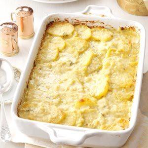Curry Potato Gratin