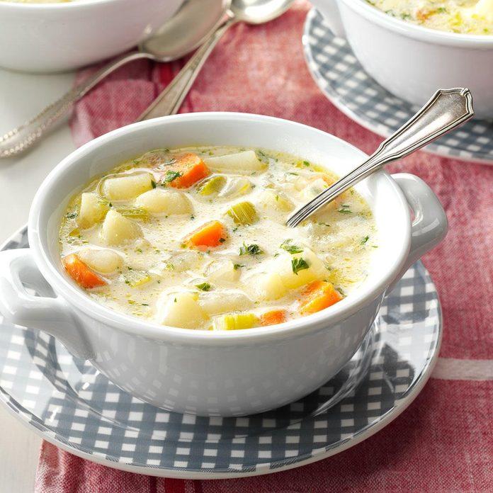 No-Fuss Potato Soup