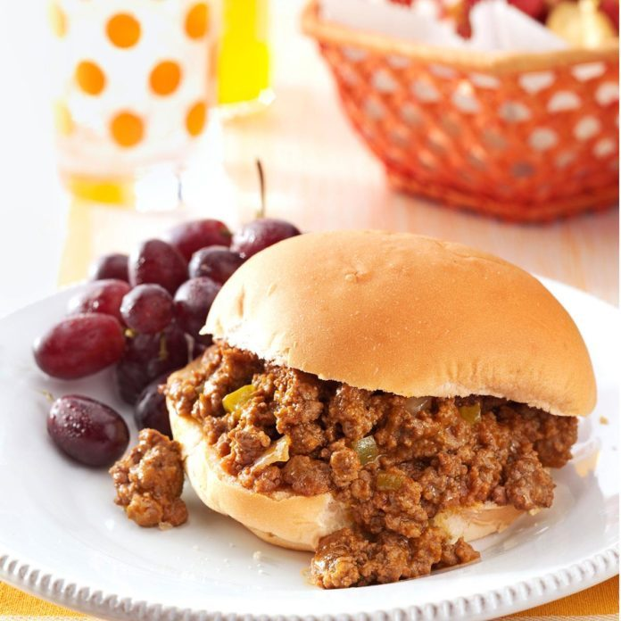 Zesty Sloppy Joes