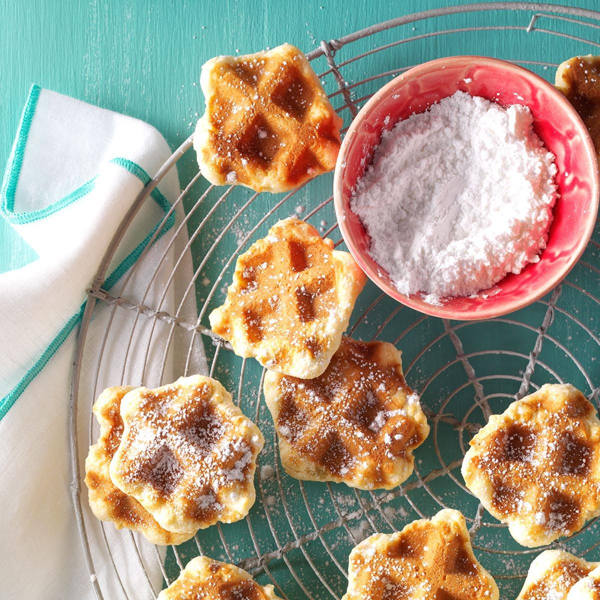 Dutch Waffle Cookies Recipe How To Make It Taste Of Home