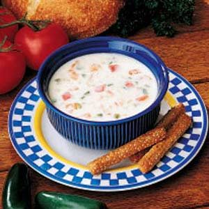 Monterey Jack Cheese Soup