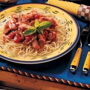 Chicken Spaghetti Supper