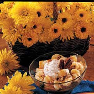 Caramel Banana Dessert
