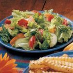 Salad with Oil-Free Dressing