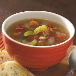 Speedy Vegetable Soup