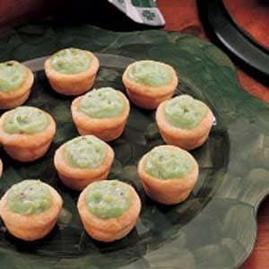 Pistachio Pudding Tarts