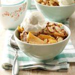 Nutty Apple Streusel Dessert