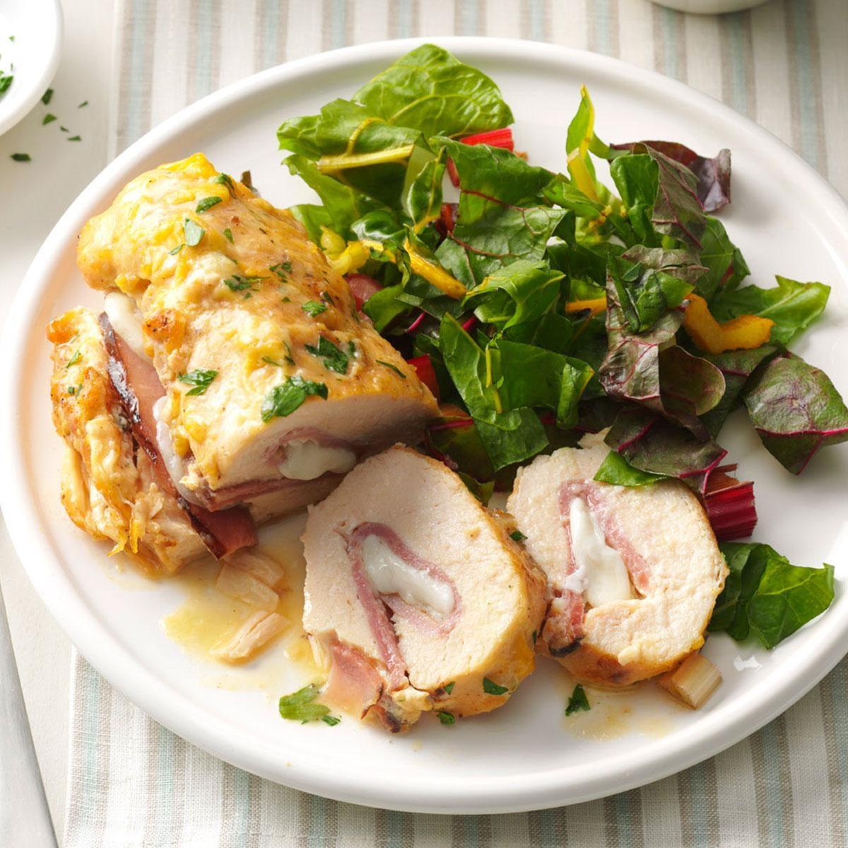 Stuffed Chicken Rolls Recipe