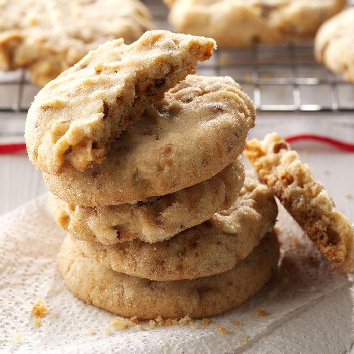 Inspired by Toffee-Tastic Cookies