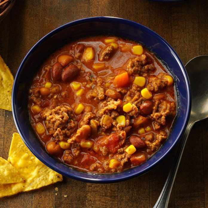 Oklahoma: Simple Taco Soup