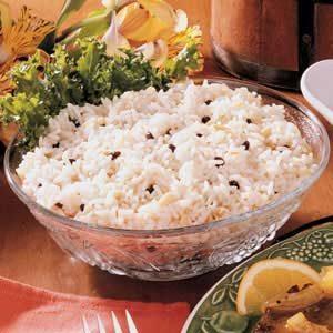 Almond Currant Rice