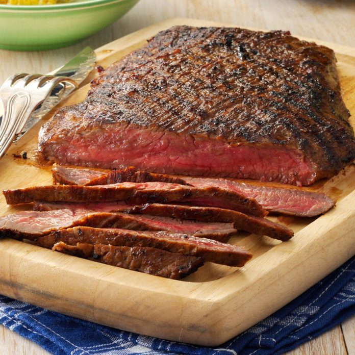 Connecticut: Easy Marinated Flank Steak