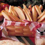 Crispy Garlic Breadsticks