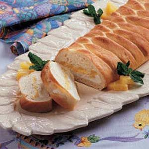 Pineapple Cheese Braid