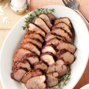 Spicy Pork Tenderloin