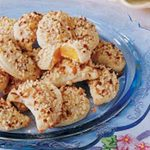 Apricot Cheese Crescents