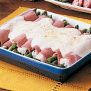 Asparagus Ham Bundles