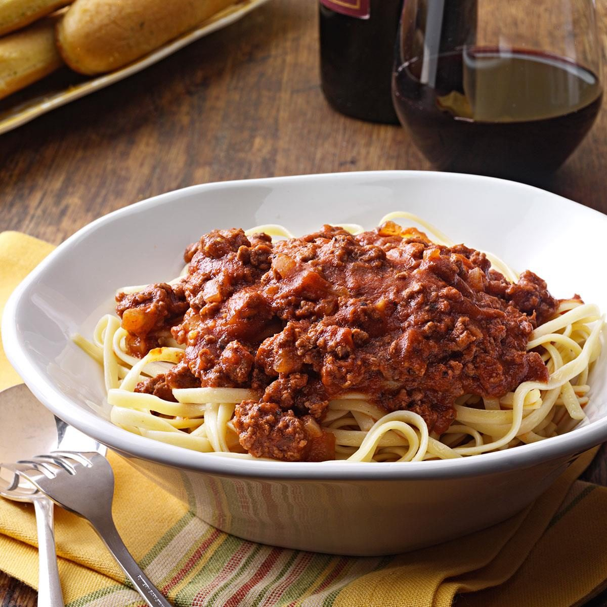 Savory Spaghetti Sauce Recipe | Taste of Home