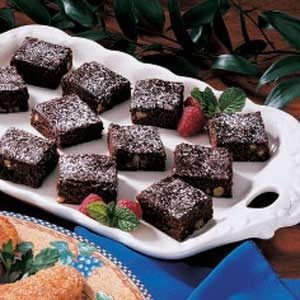 Lighter Fudgy Brownies