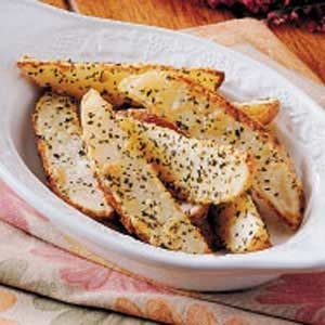 Herbed Potato Wedges